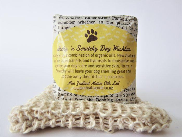 Itchy 'n Scratchy Dog Soap Bar