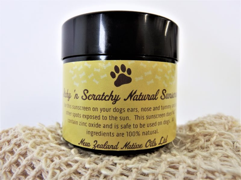 Itchy Scratchy Natural Sunscreen